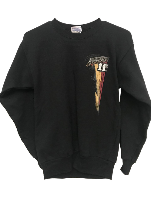 11K Youth Sweatshirt Maroon & Brown Design
