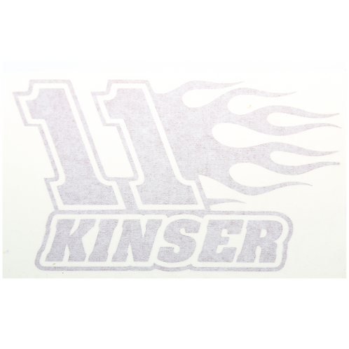 11 Kinser Decal