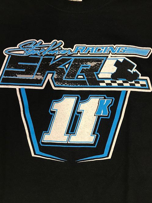 Steve Kinser Racing Black/Blue Crew Shirt