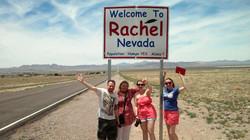 Rachel Nevada sign
