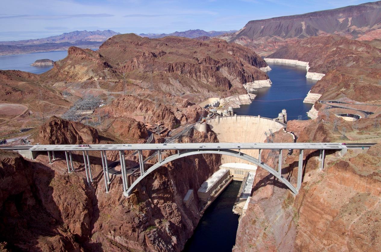 Hoover Dam Aerial 2