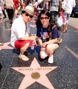 Michael Jackson's Star, Walk of Fame