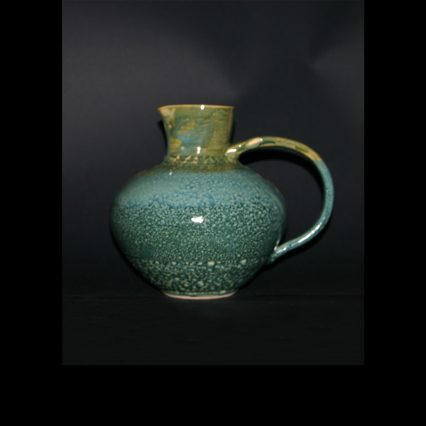 bluespot green pitcher