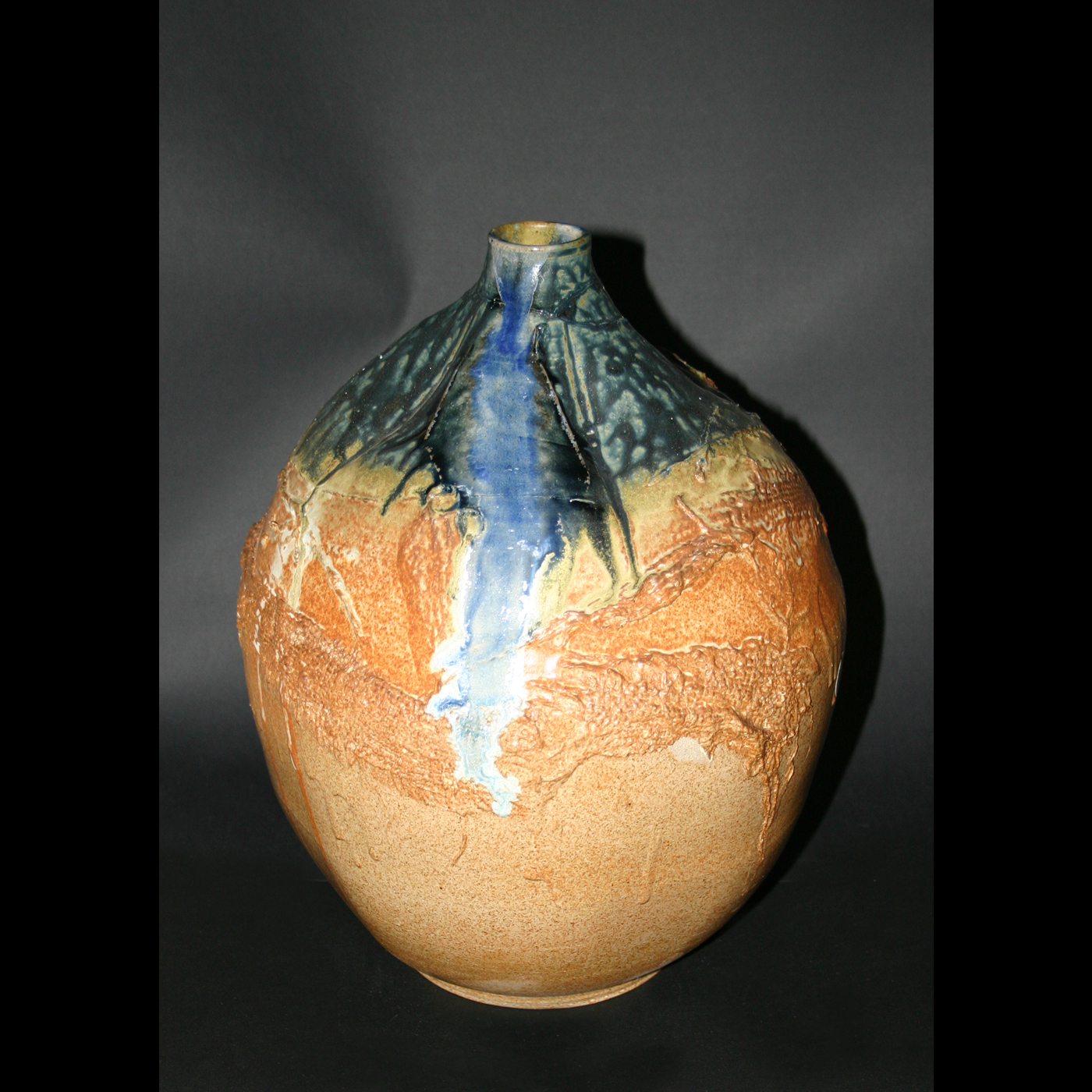 burlap&spogemene vase