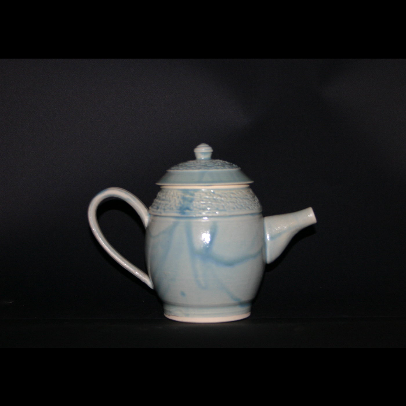light green tea pot