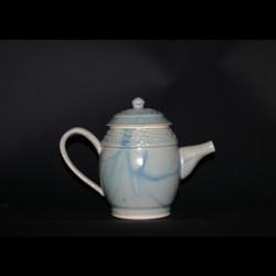 light green tea pot