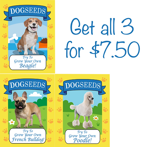Buy all 3 packets!