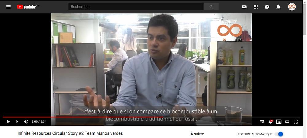 Team Manos Verdes Interview circular