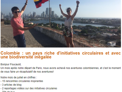 Newsletter #2 Colombia