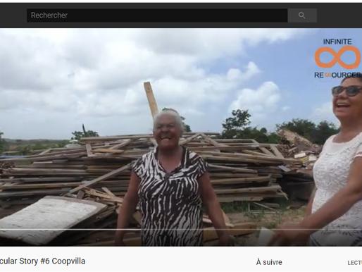 Circularstory #6 Coopvilla récupère le bois des industriels pour en faire des meubles et du charbon!