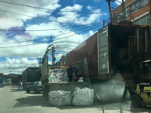 L'économie grise des recicladores à Bogotá