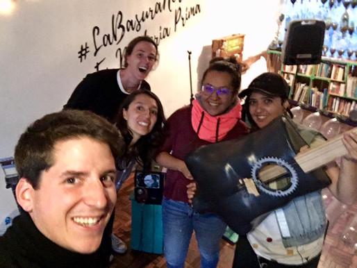 Circularstory#1: Latin Latas crée beaucoup de valeur en Colombie en faisant vibrer🎹🎸 les déchets🗑