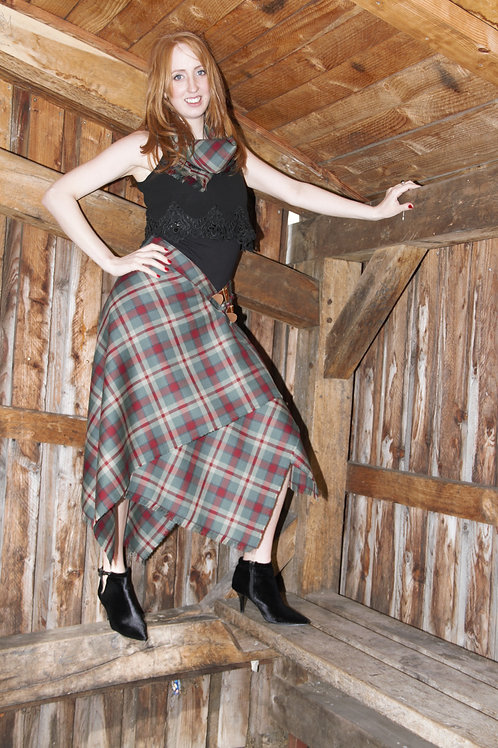 Bella Ladies Maxi Highland Skirt