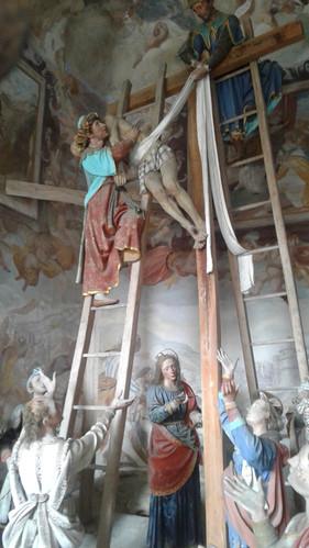 Varallo cappella deposizione dalla croce