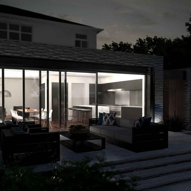 Domestic extension in Allerton