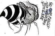 Little Bee_._._._. . ._._._#micron #art