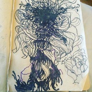 #inktober day 3 #doodle #sketch #flowers