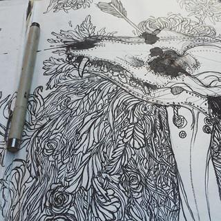 kaboom #skull #instaart #artoftheday #sk