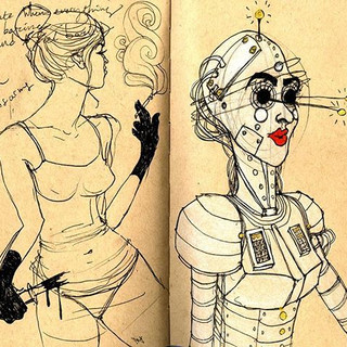 sketches #sketchbook #art #drawing #wome