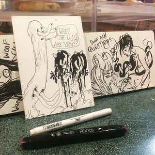 cafe doodles #sketchbook #doodles #illus