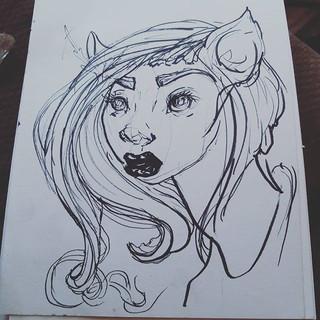 Sunday sketch_._._._._._._._._._#art #il