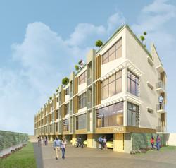 XXIV Terrace houses
