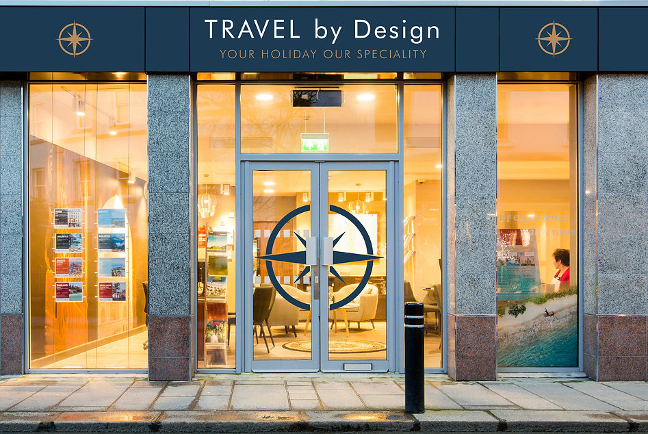 Travel by Design Brand Identity by Great