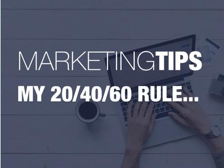 20/40/60 Minimum Marketing Rule