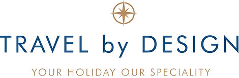 Travel by Design Logo by Great Circle.jp