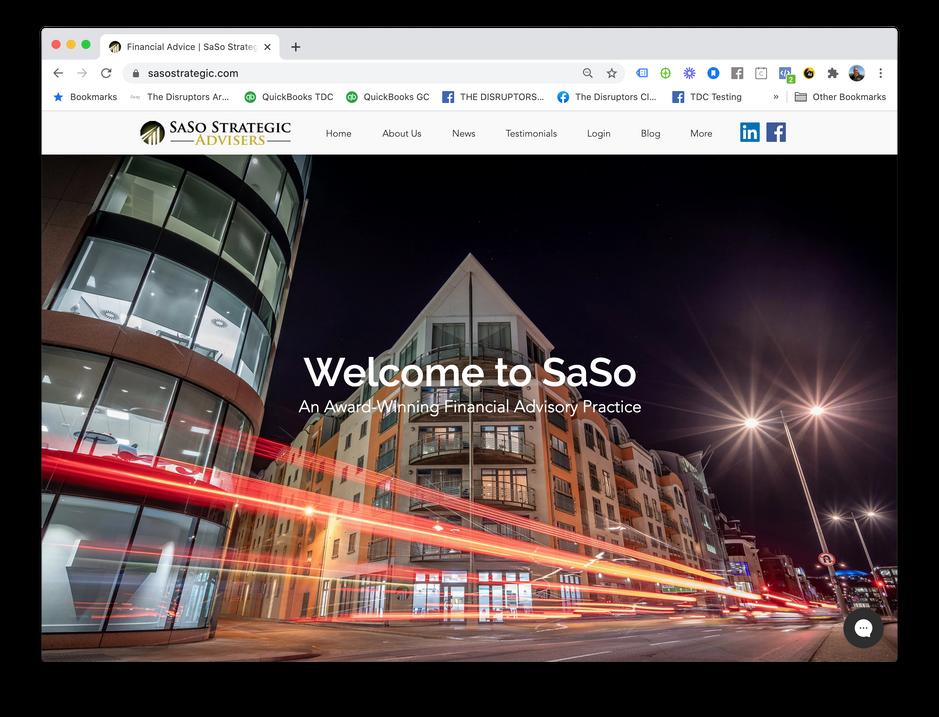 SaSo Strategic Web Site