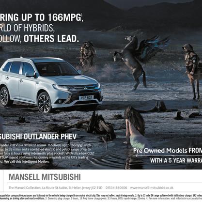 Mitsubishi Advert