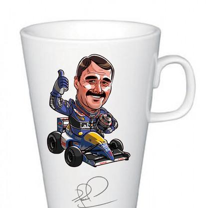Nigel Mansell Mugs
