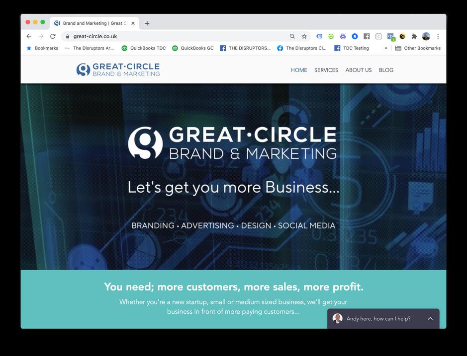 Great Circle Web Site