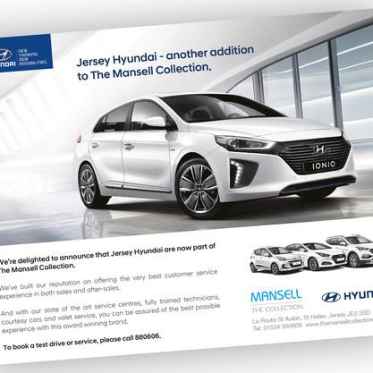 Hyundai Mansell Advert