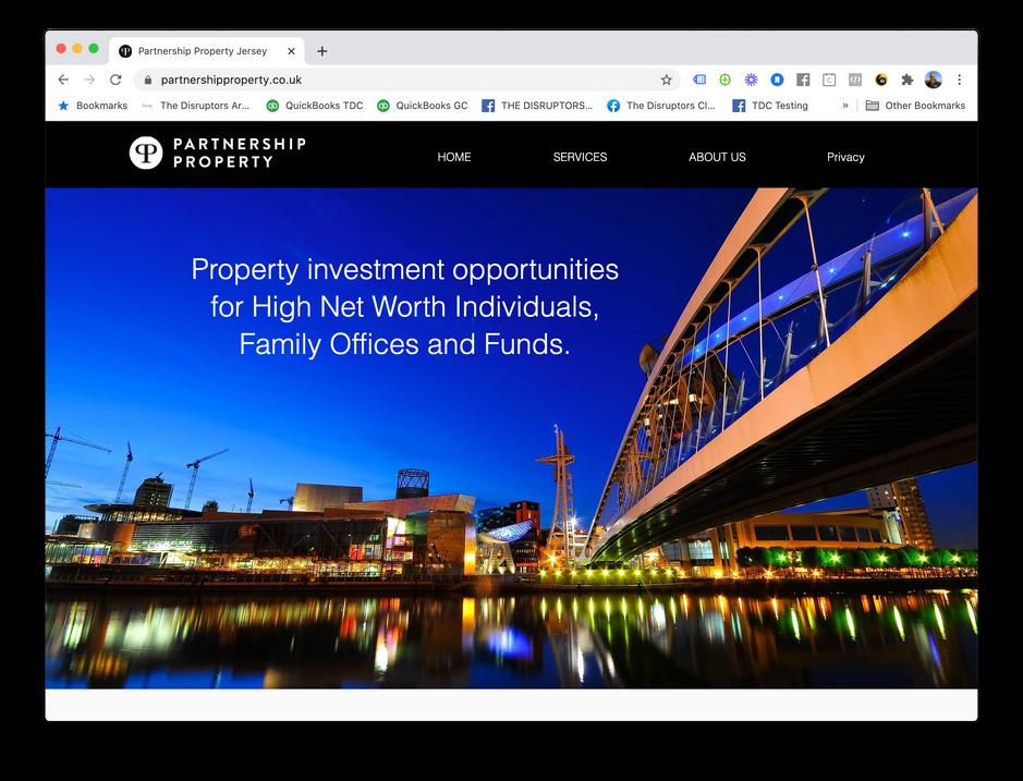 Partnership Property Web Site