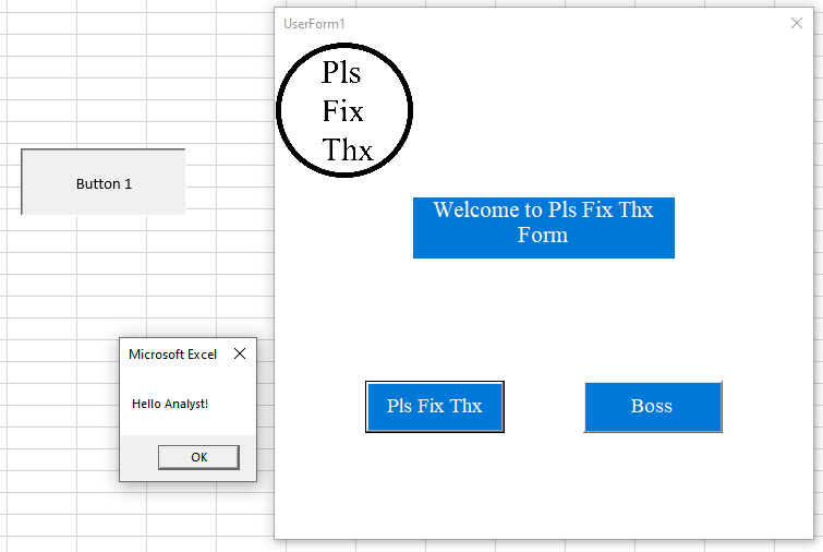 how to create userforms in excel vba