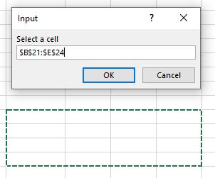 InputBox Function range selection