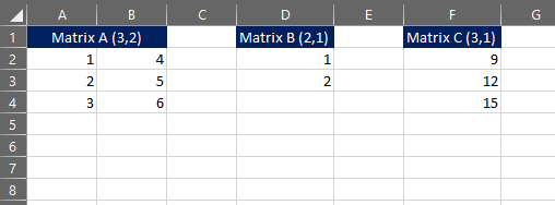 multiply arrays vba