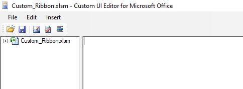xml editor for excel tab