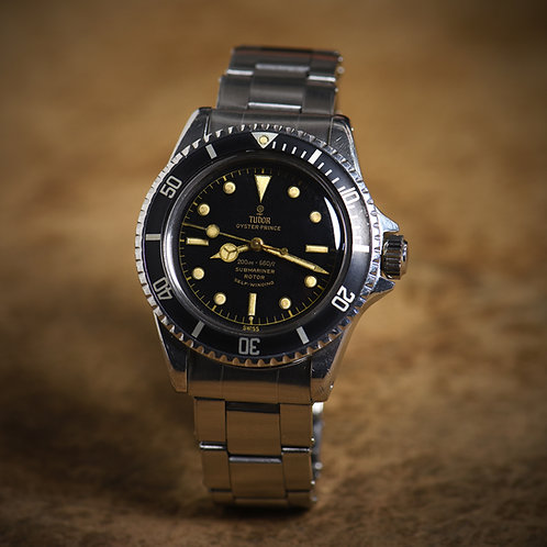 1962 Tudor Submariner 7928. Pointed Crown Guards.