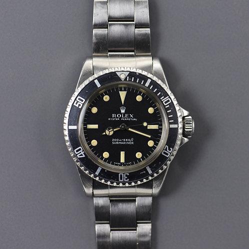1967 Rolex 5513 Submariner Meters First.