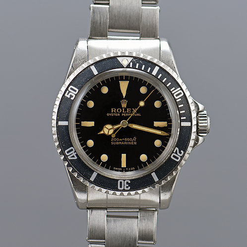 1966 Rolex Submariner 5513 Gilt Dial.