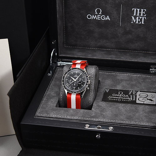 "Omega Speedmaster ""The Met"" Limited Edition."