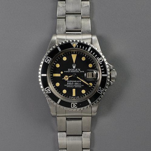 1978 Rolex Submariner 1680 MKIII Dial.