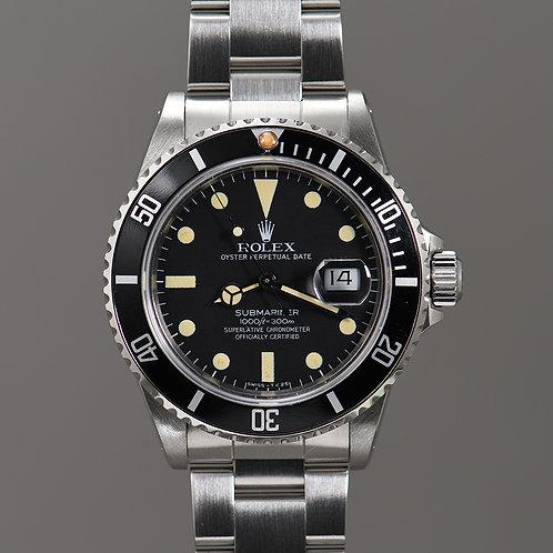 1982 Rolex Submariner 16800 Matte Dial.