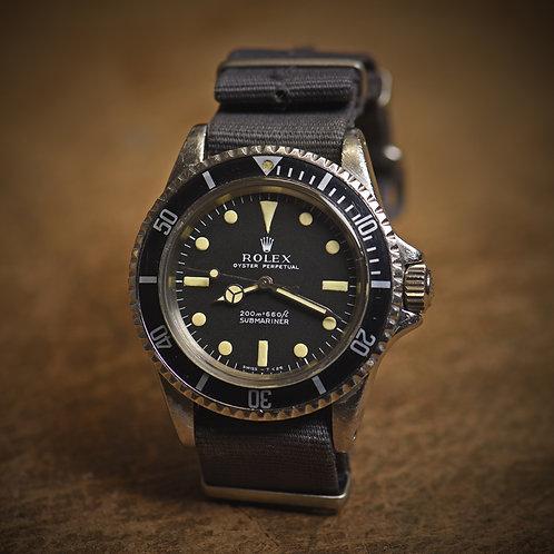 1967 Rolex 5513 Submariner. Meters First.