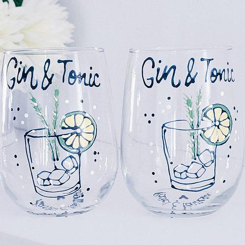 Verre à vin Gin & Tonic