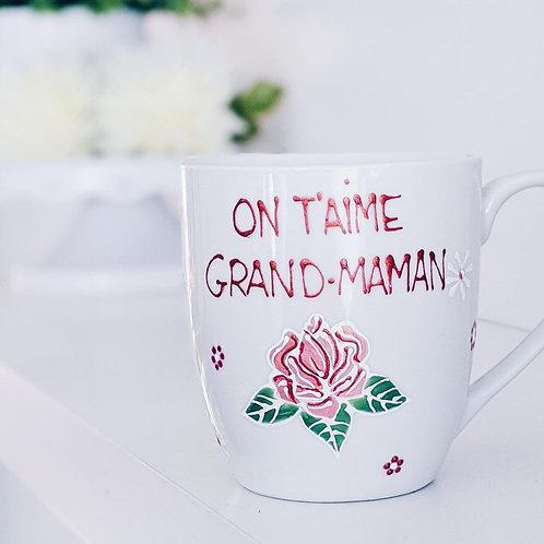 "Tasse ""On t'aime Grand-Maman"""