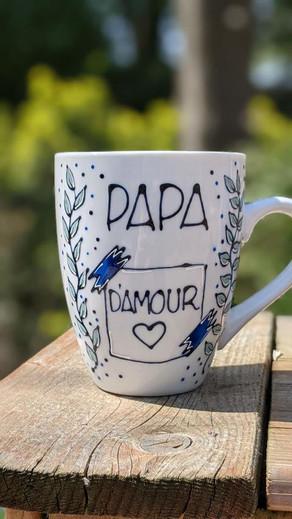 Papa d'amour - Post-it