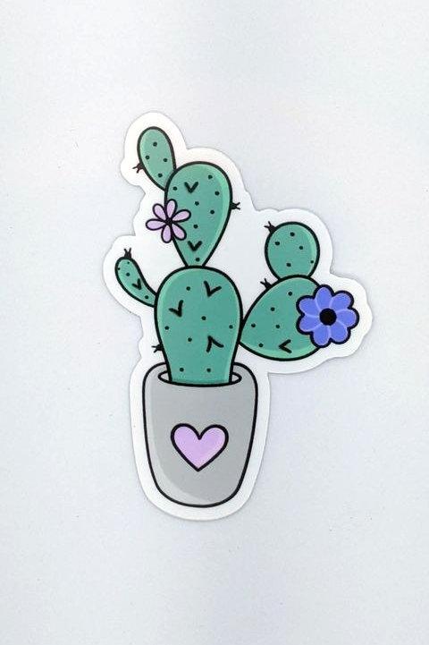 Autocollant - Cactus